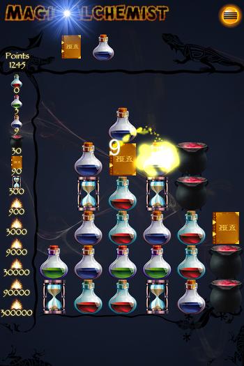 Das Spiel der Verschmelzung - Magic Alchemist für android